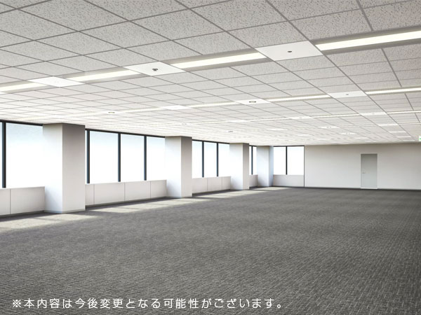NBF品川タワー 基準階フロアイメージ