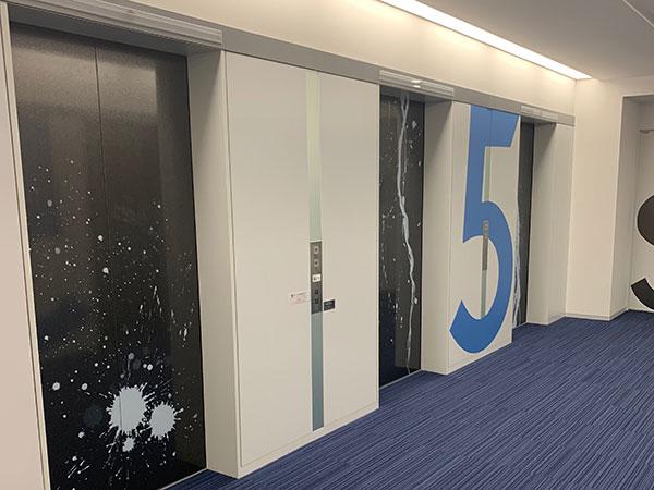 NBF品川タワー 5Fエレベーター(参考)