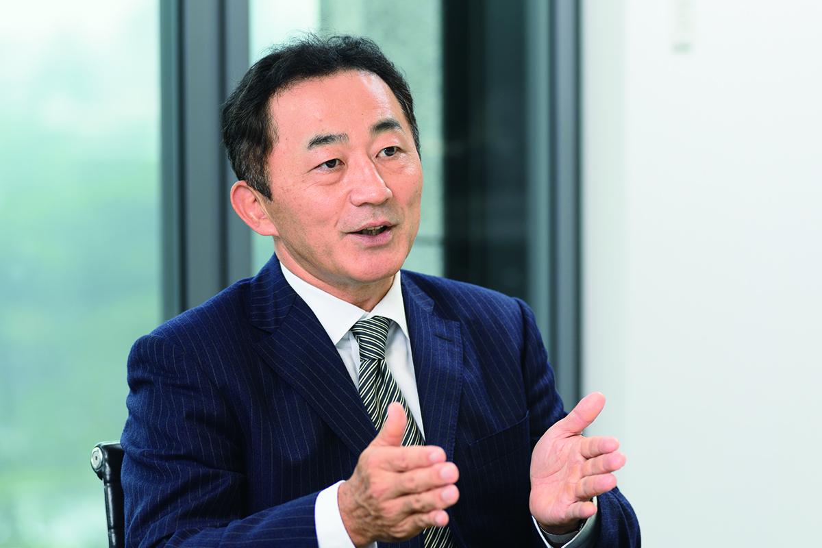 シービーアールイー株式会社 代表取締役社長兼CEO 坂口 英治