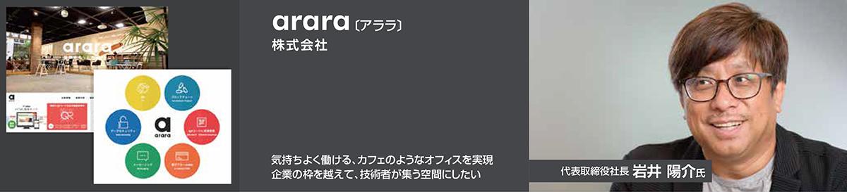 arara株式会社 | 成長ベンチャーに訊く