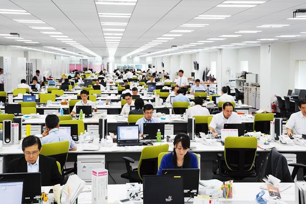 オフィス移転プロジェクト事例 /りそな銀行 / オフィス