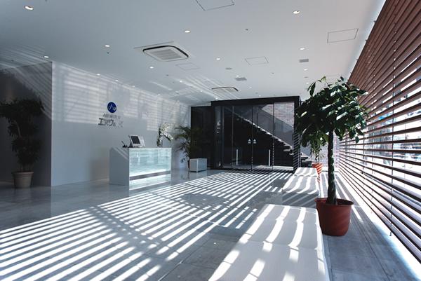 オフィス移転プロジェクト事例 / エア・ウォーター株式会社 / エントランス