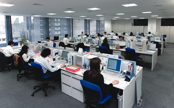 オフィス移転プロジェクト事例 / エア・ウォーター株式会社 / オフィススペース
