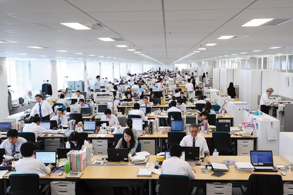 オフィス移転プロジェクト事例 /株式会社マルハニチロホールディングス / オフィス