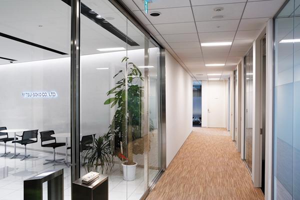 オフィス移転プロジェクト事例 /株式会社三井倉庫株式会社 / 廊下
