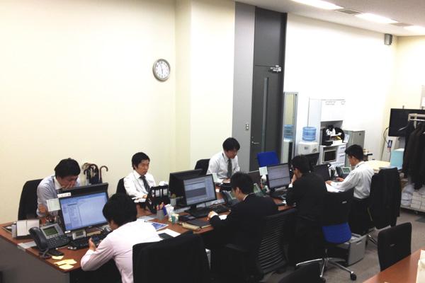 オフィス移転プロジェクト事例 / シービーアールイー株式会社 札幌支店 / オフィス