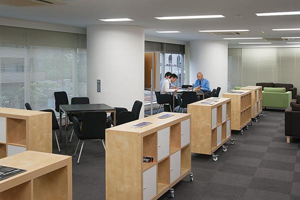 オフィス移転プロジェクト事例 /エナックス株式会社 / オープンスペース