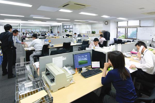 オフィス移転プロジェクト事例 /エナックス株式会社 / 執務室