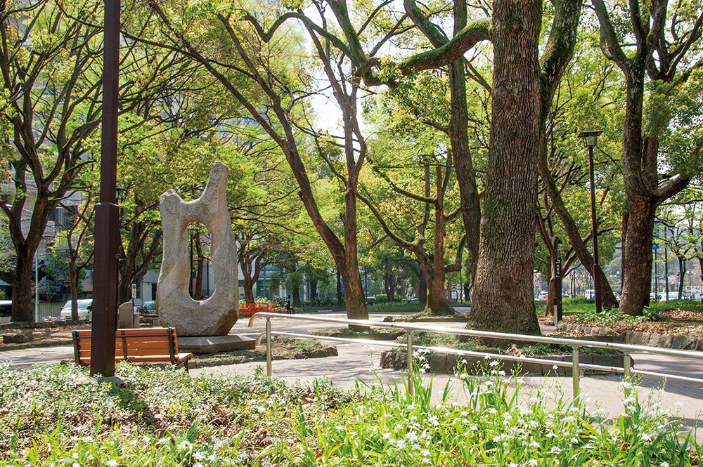 緑溢れる芝公園