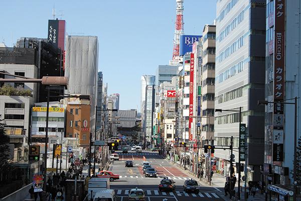 浜松町・田町 - 東京ビジネス街...