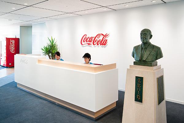 オフィス移転プロジェクト事例 / 東京コカ・コーラボトリング株式会社 受付