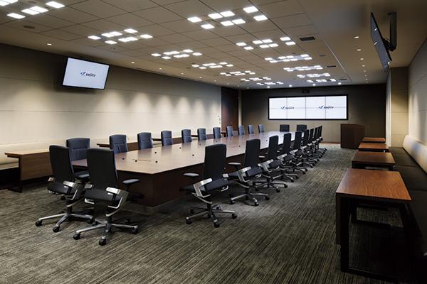 オフィス移転プロジェクト事例 / 双日株式会社 会議室