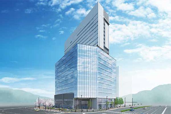 広島二葉の里プロジェクト 商業・オフィス部分