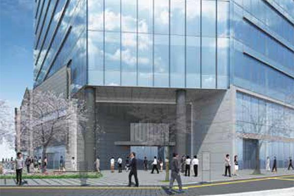 広島二葉の里プロジェクト オフィスエントランス