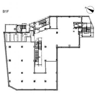 地下1階 平面図