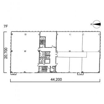 7階 平面図