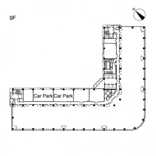9階 平面図