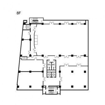 8階 平面図