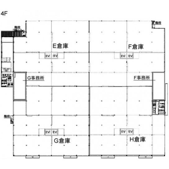4階 平面図