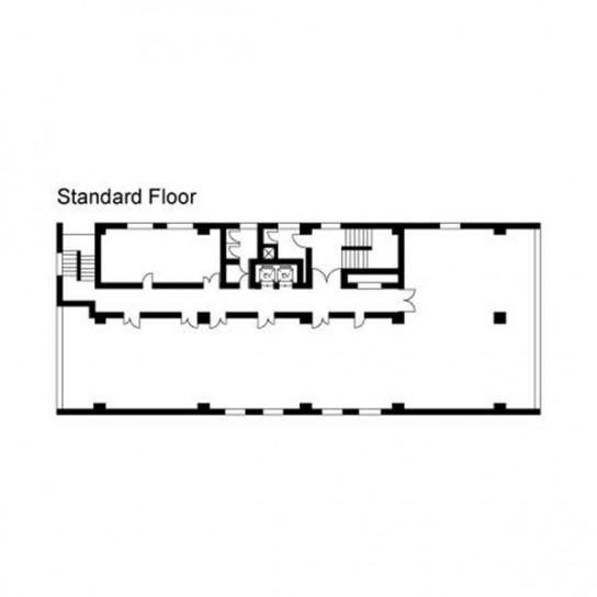基準階 平面図