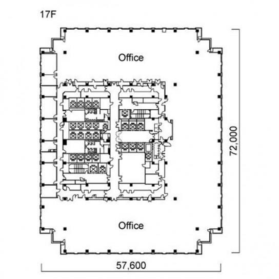 17階 平面図