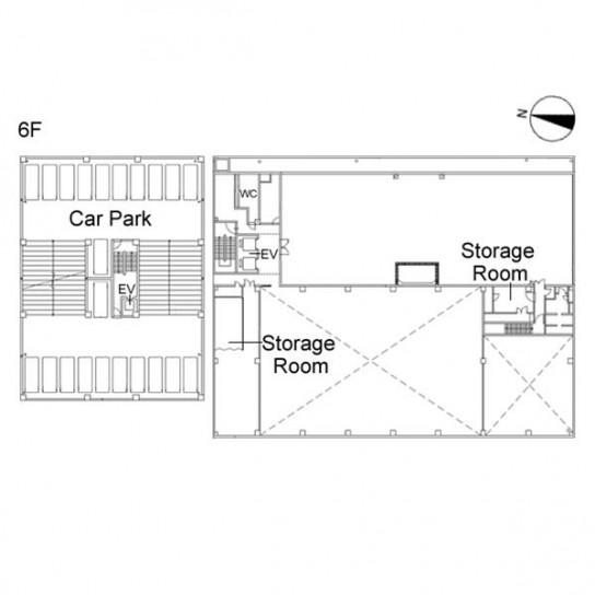 6階 平面図