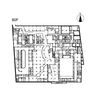 地下2階 平面図